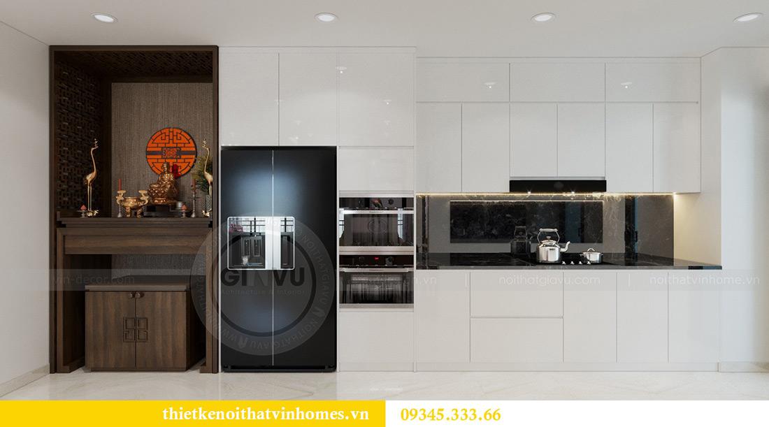 Thiết kế nội thất căn hộ chung cư Mandarin Garden Hoàng Minh Giám 6