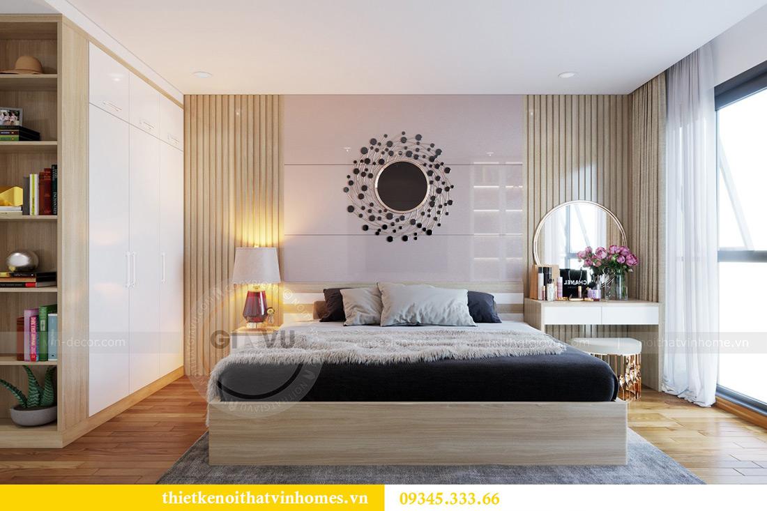 Thiết kế nội thất căn hộ chung cư Mandarin Garden Hoàng Minh Giám 7