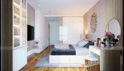 Thiết kế nội thất căn hộ chung cư Mandarin Garden Hoàng Minh Giám 9
