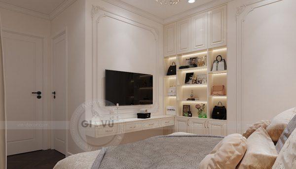 Thiết kế nội thất chung cư Green Bay Mễ Trì căn 05 tòa G1 - Chị Lan 9
