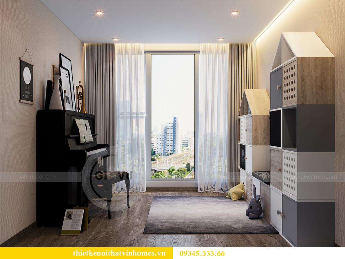 Thiết kế nội thất Vinhomes Metropolis tòa M1 căn 01 nhà chị Trang 10