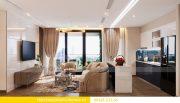 Thiết kế nội thất Vinhomes Metropolis tòa M1 căn 01 nhà chị Trang 2