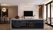 Thiết kế nội thất Vinhomes Metropolis tòa M1 căn 01 nhà chị Trang 3