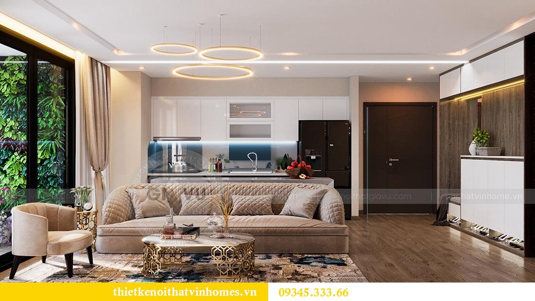 Thiết kế nội thất Vinhomes Metropolis tòa M1 căn 01 nhà chị Trang 4