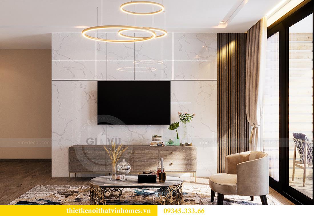 Thiết kế nội thất Vinhomes Metropolis tòa M1 căn 01 nhà chị Trang 5