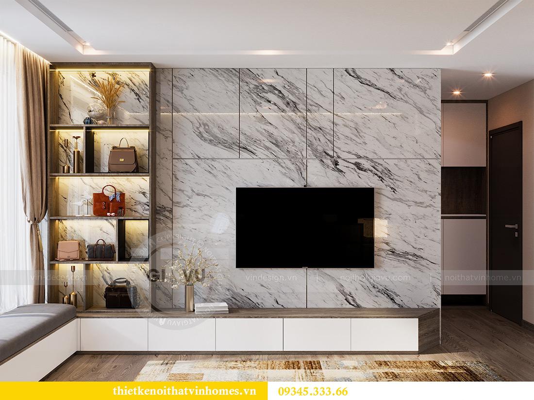 Thiết kế nội thất Vinhomes Metropolis tòa M1 căn 01 nhà chị Trang 7