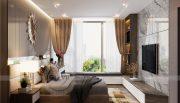 Thiết kế nội thất Vinhomes Metropolis tòa M1 căn 01 nhà chị Trang 8