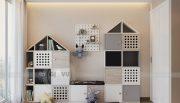 Thiết kế nội thất Vinhomes Metropolis tòa M1 căn 01 nhà chị Trang 9