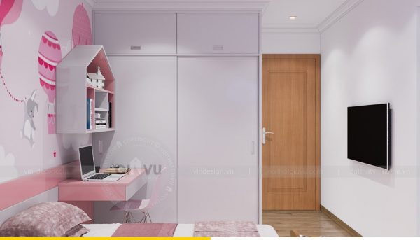 Thiết kế nội thất Vinhomes Sky Lake Phạm Hùng căn 2 ngủ 11