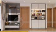 Thiết kế nội thất Vinhomes Sky Lake Phạm Hùng căn 2 ngủ 5