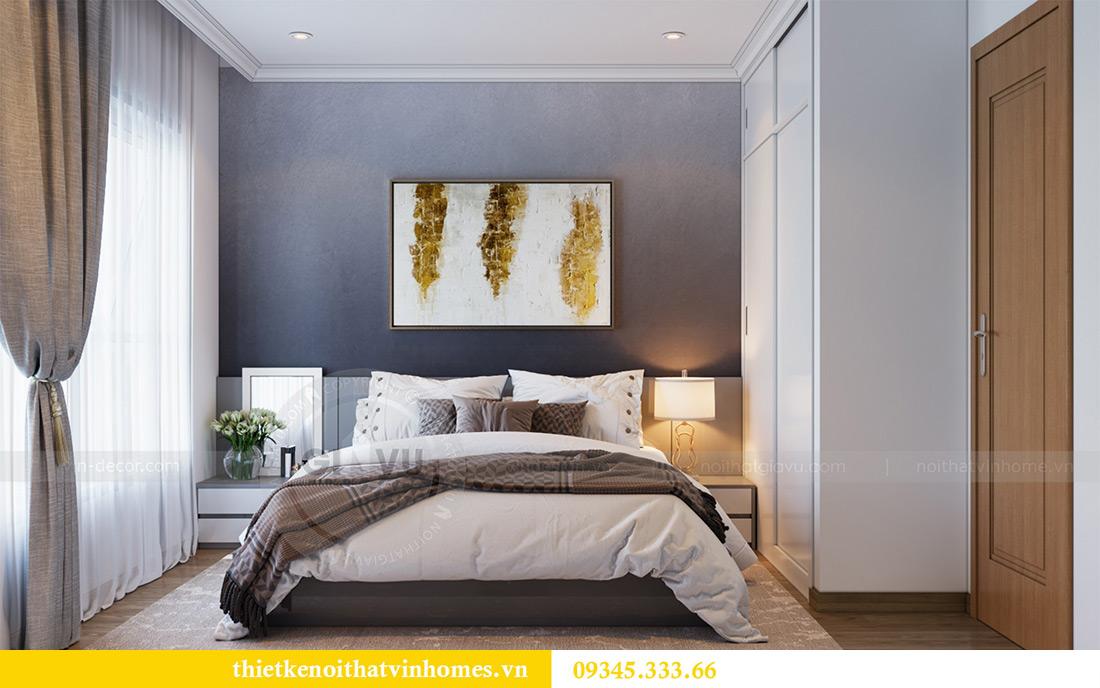 Thiết kế nội thất Vinhomes Sky Lake Phạm Hùng căn 2 ngủ 7