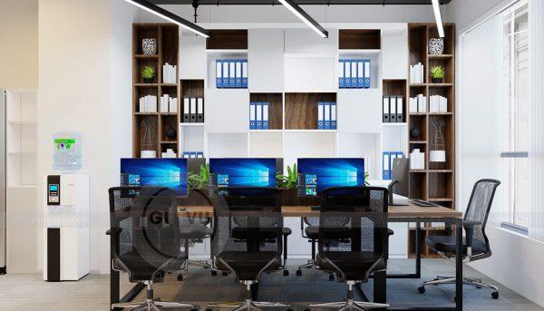 Ý tưởng thiết kế nội thất văn phòng chung cư Mễ Trì 2019 4
