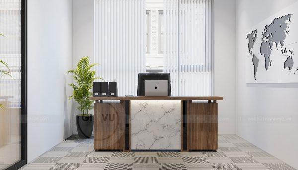 Ý tưởng thiết kế nội thất văn phòng chung cư Mễ Trì 2019 6