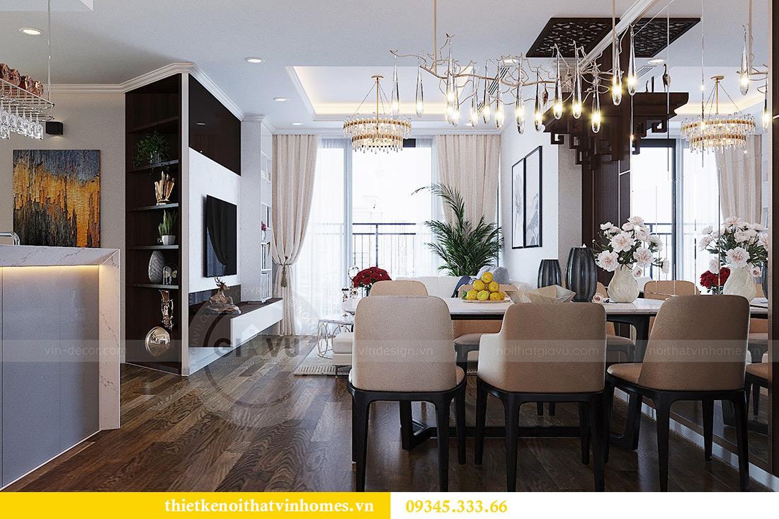 Thiết kế nội thất căn hộ chung cư Green Bay Mễ Trì nhà anh Hưởng 1