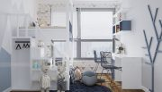 Thiết kế nội thất căn hộ chung cư Green Bay Mễ Trì nhà anh Hưởng 12