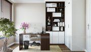 Thiết kế nội thất căn hộ chung cư Green Bay Mễ Trì nhà anh Hưởng 13
