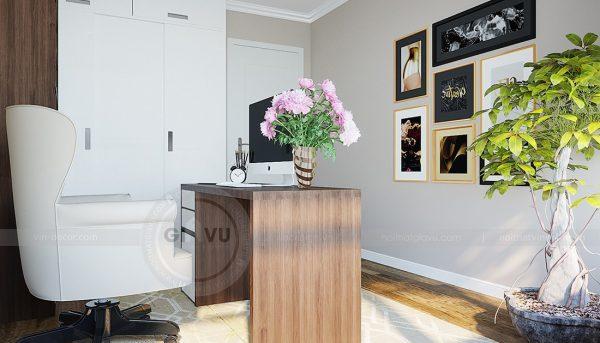 Thiết kế nội thất căn hộ chung cư Green Bay Mễ Trì nhà anh Hưởng 14