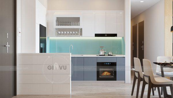 Thiết kế nội thất chung cư Vinhomes Metropolis tòa M2 căn 12A - chú Hậu 1