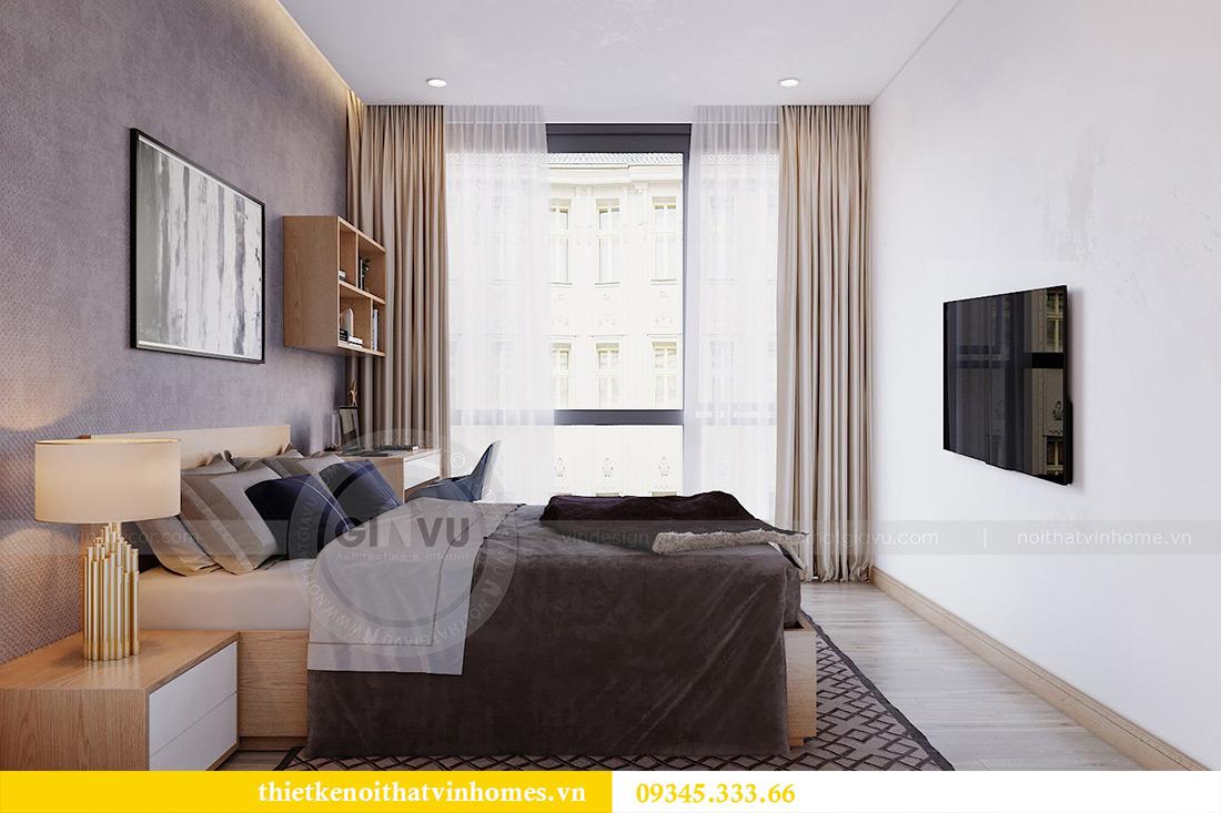 Thiết kế nội thất chung cư Vinhomes Metropolis tòa M2 căn 12A - chú Hậu 11
