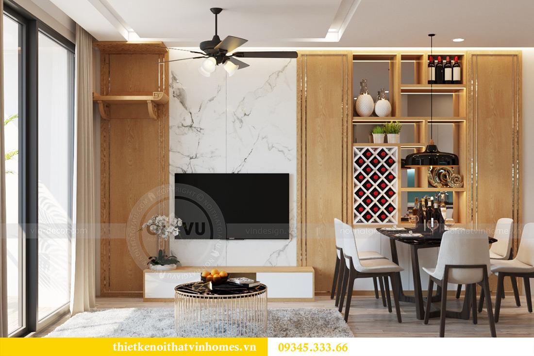 Thiết kế nội thất chung cư Vinhomes Metropolis tòa M2 căn 12A - chú Hậu 3