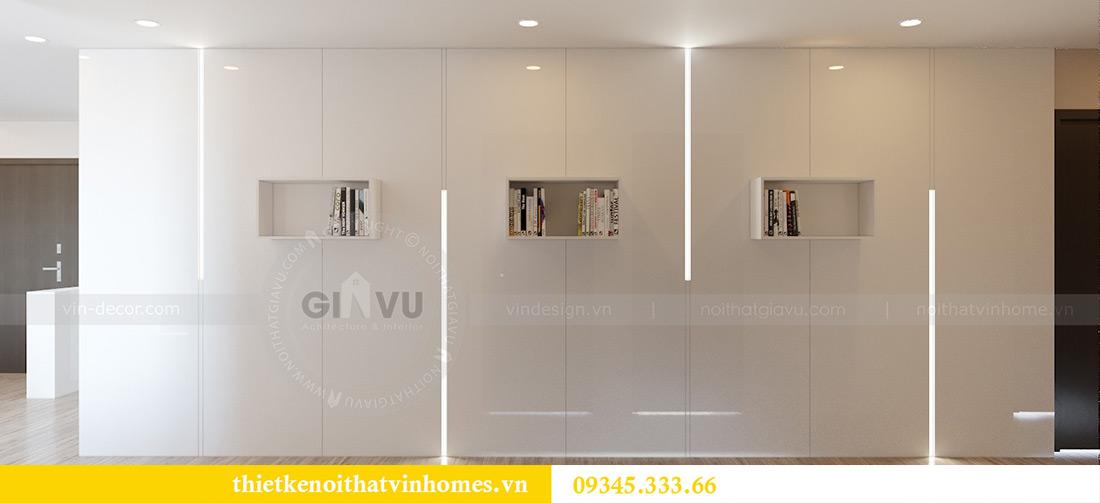 Thiết kế nội thất chung cư Vinhomes Metropolis tòa M2 căn 12A - chú Hậu 5
