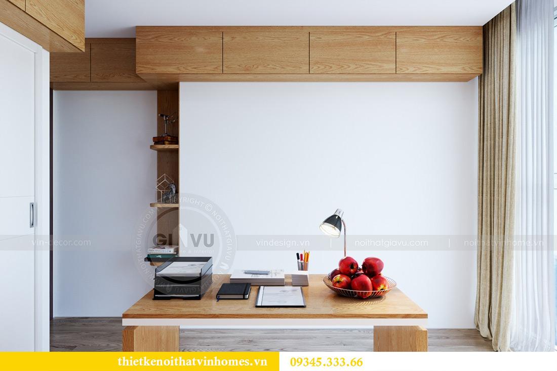 Thiết kế nội thất chung cư Vinhomes Metropolis tòa M2 căn 12A - chú Hậu 7
