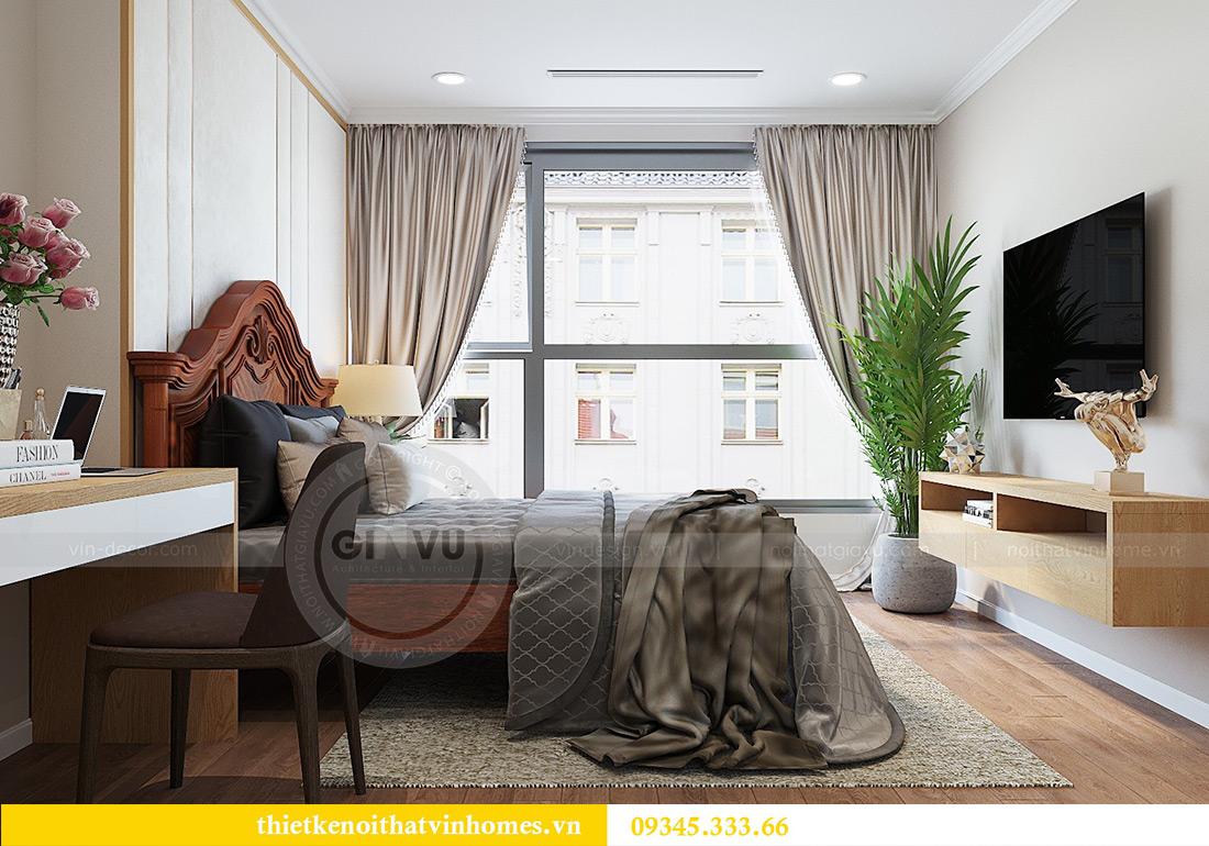 Thiết kế nội thất chung cư Vinhomes Metropolis tòa M2 căn 12A - chú Hậu 9