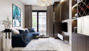 Thiết kế nội thất Vinhomes Dcapitale tòa C1 căn 07 cô Quý 2