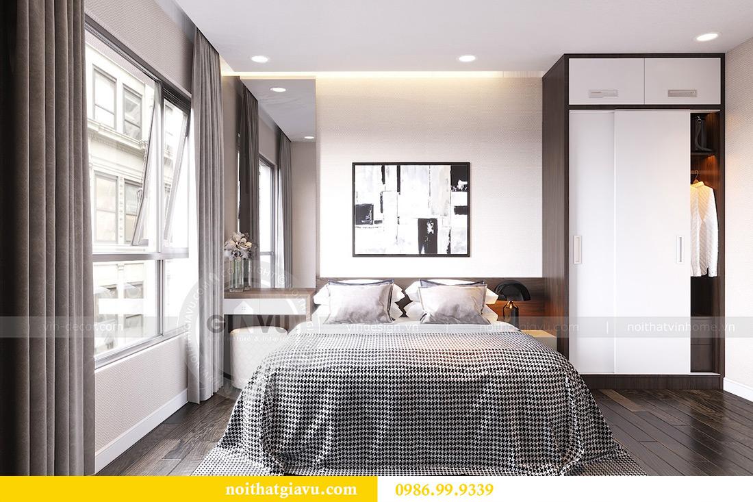 Thiết kế nội thất Vinhomes Dcapitale tòa C1 căn 07 cô Quý 5
