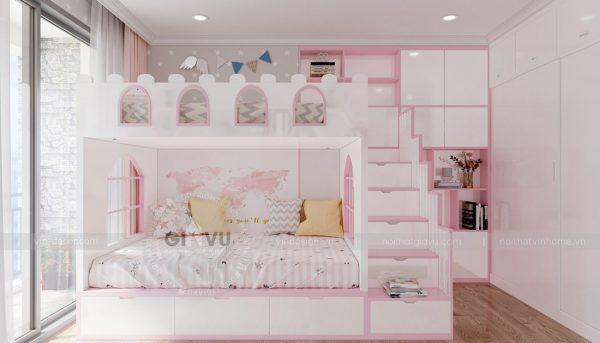 Thiết kế nội thất Vinhomes Green Bay căn 3 ngủ đẹp hiện đại 10