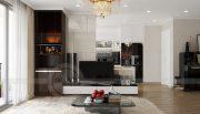 Thiết kế nội thất Vinhomes Green Bay căn 3 ngủ đẹp hiện đại 2