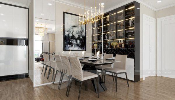 Thiết kế nội thất Vinhomes Green Bay căn 3 ngủ đẹp hiện đại 4