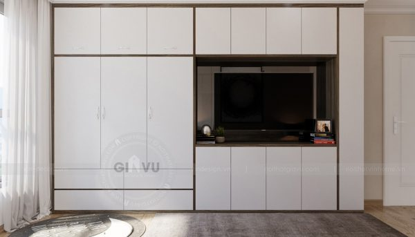 Thiết kế nội thất Vinhomes Green Bay căn 3 ngủ đẹp hiện đại 7