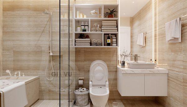 Thiết kế nội thất Vinhomes Green Bay căn 3 ngủ đẹp hiện đại 9