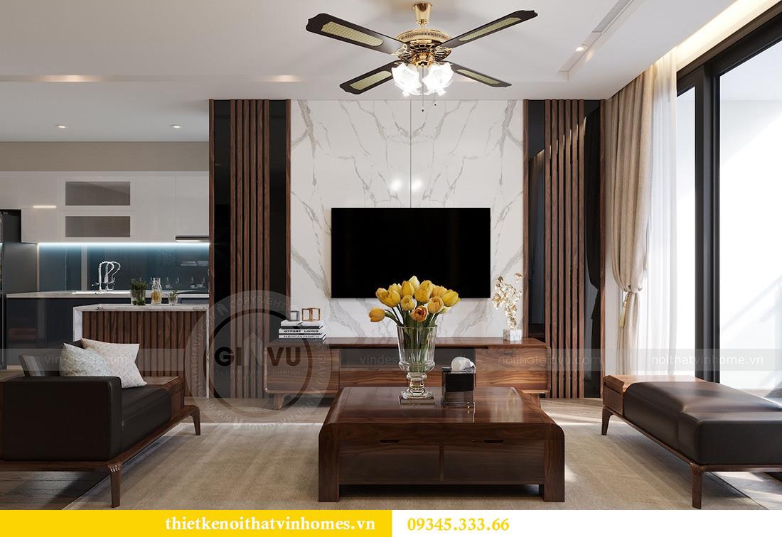 Thiết kế nội thất Vinhomes Metropolis căn 02 tòa M2 sang trọng, đẳng cấp 3