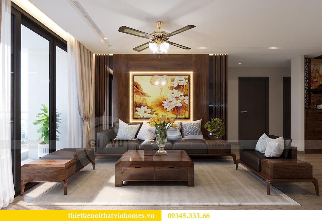 Thiết kế nội thất Vinhomes Metropolis căn 02 tòa M2 sang trọng, đẳng cấp 4