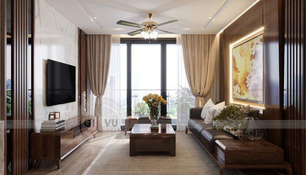Thiết kế nội thất Vinhomes Metropolis căn 02 tòa M2 sang trọng, đẳng cấp 5