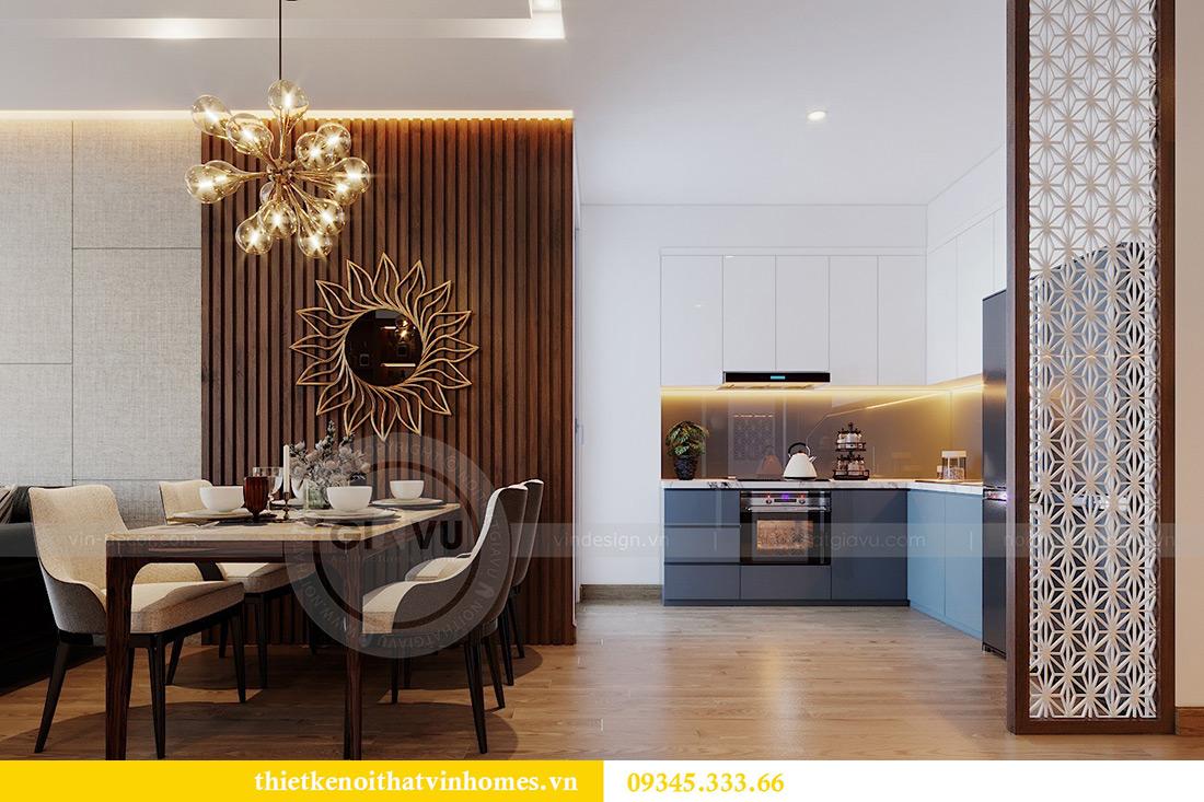 Thiết kế nội thất Vinhomes Metropolis tòa M3 căn 01 - anh Thịnh 2
