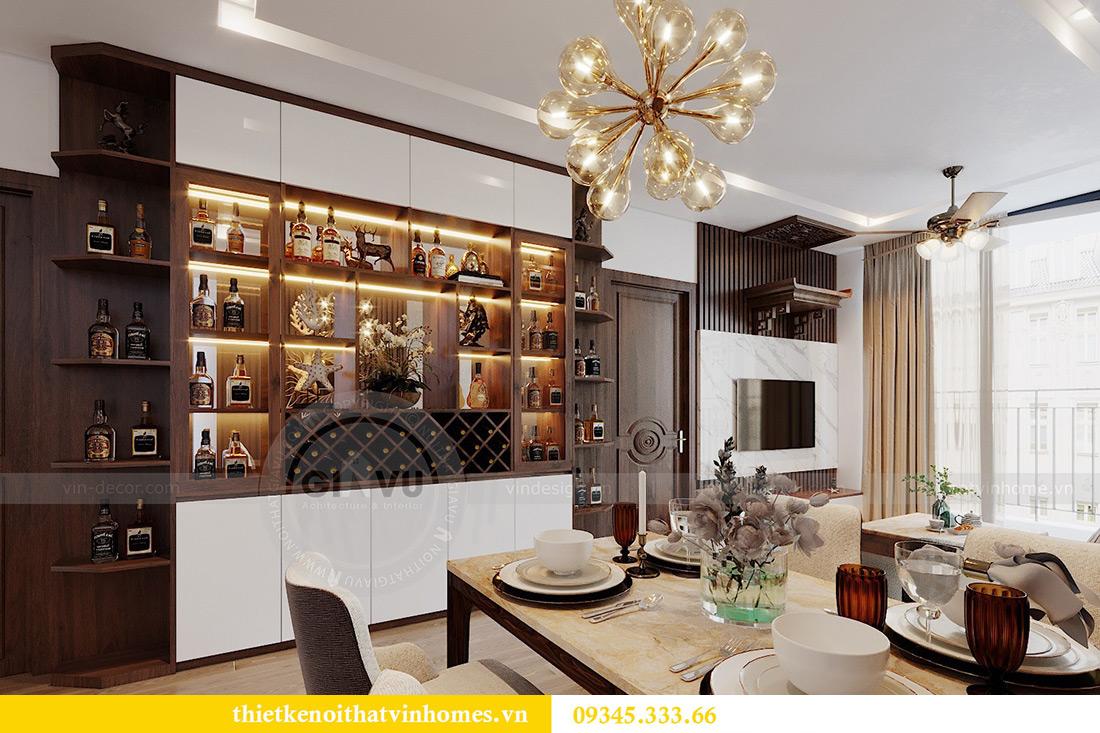 Thiết kế nội thất Vinhomes Metropolis tòa M3 căn 01 - anh Thịnh 3