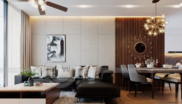 Thiết kế nội thất Vinhomes Metropolis tòa M1 căn 01 - anh Thịnh 4