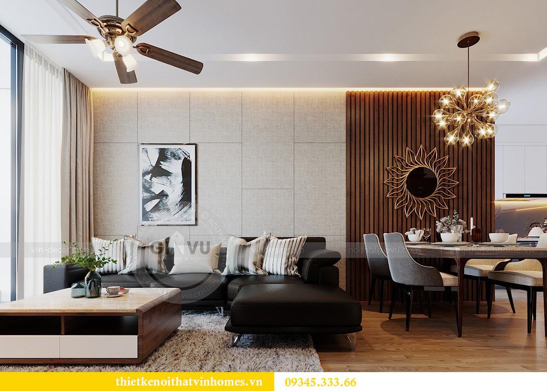 Thiết kế nội thất Vinhomes Metropolis tòa M3 căn 01 - anh Thịnh 4