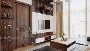 Thiết kế nội thất Vinhomes Metropolis tòa M1 căn 01 - anh Thịnh 5