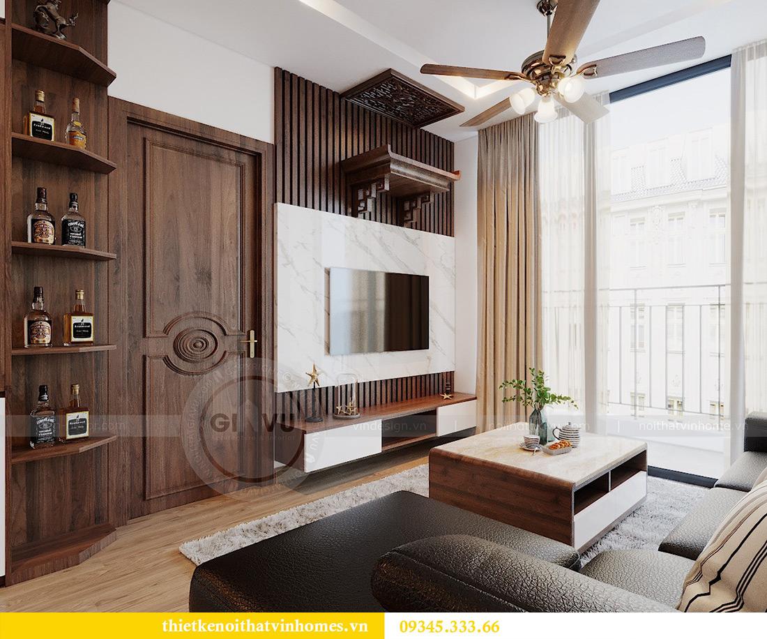 Thiết kế nội thất Vinhomes Metropolis tòa M3 căn 01 - anh Thịnh 5