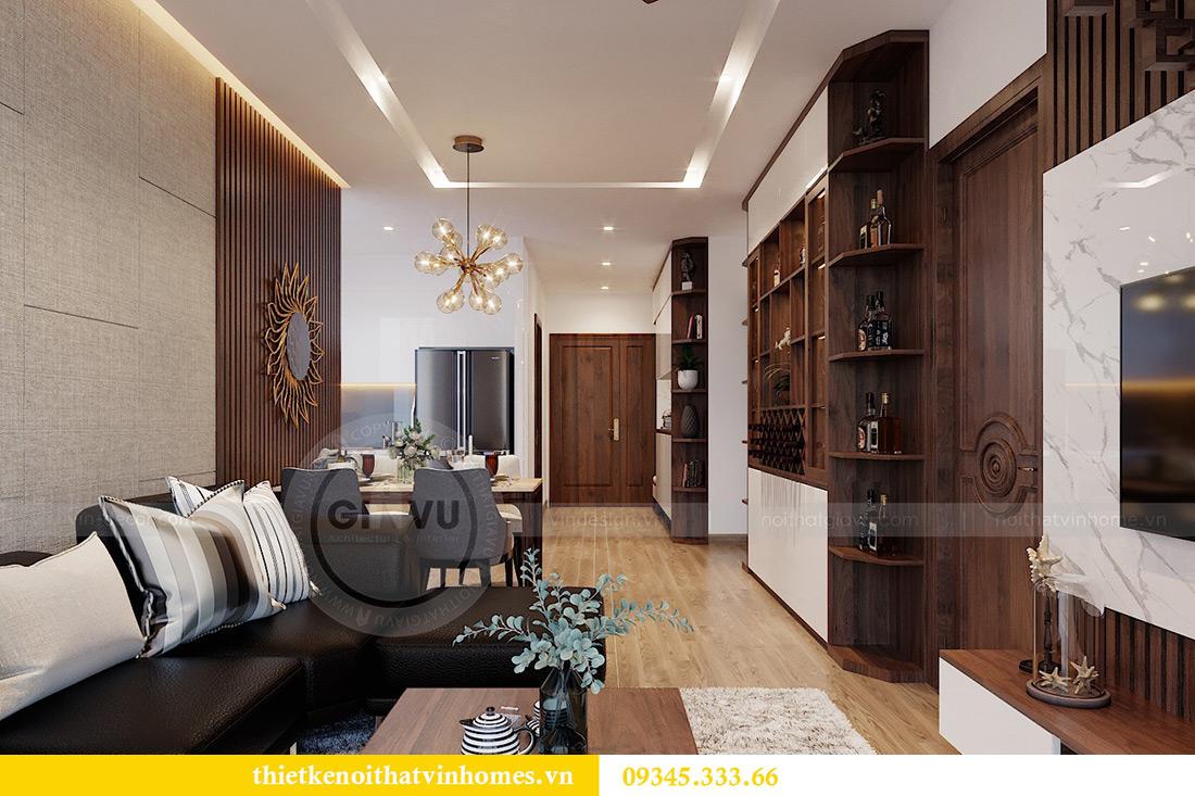 Thiết kế nội thất Vinhomes Metropolis tòa M3 căn 01 - anh Thịnh 6