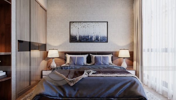 Thiết kế nội thất Vinhomes Metropolis tòa M1 căn 01 - anh Thịnh 7