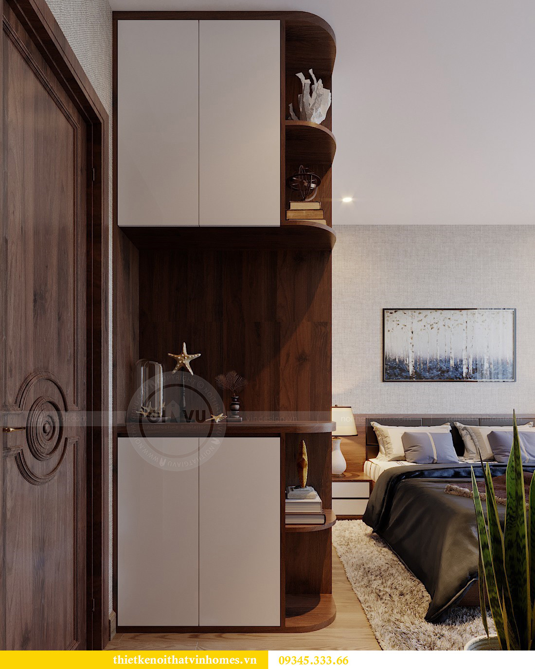 Thiết kế nội thất Vinhomes Metropolis tòa M3 căn 01 - anh Thịnh 9