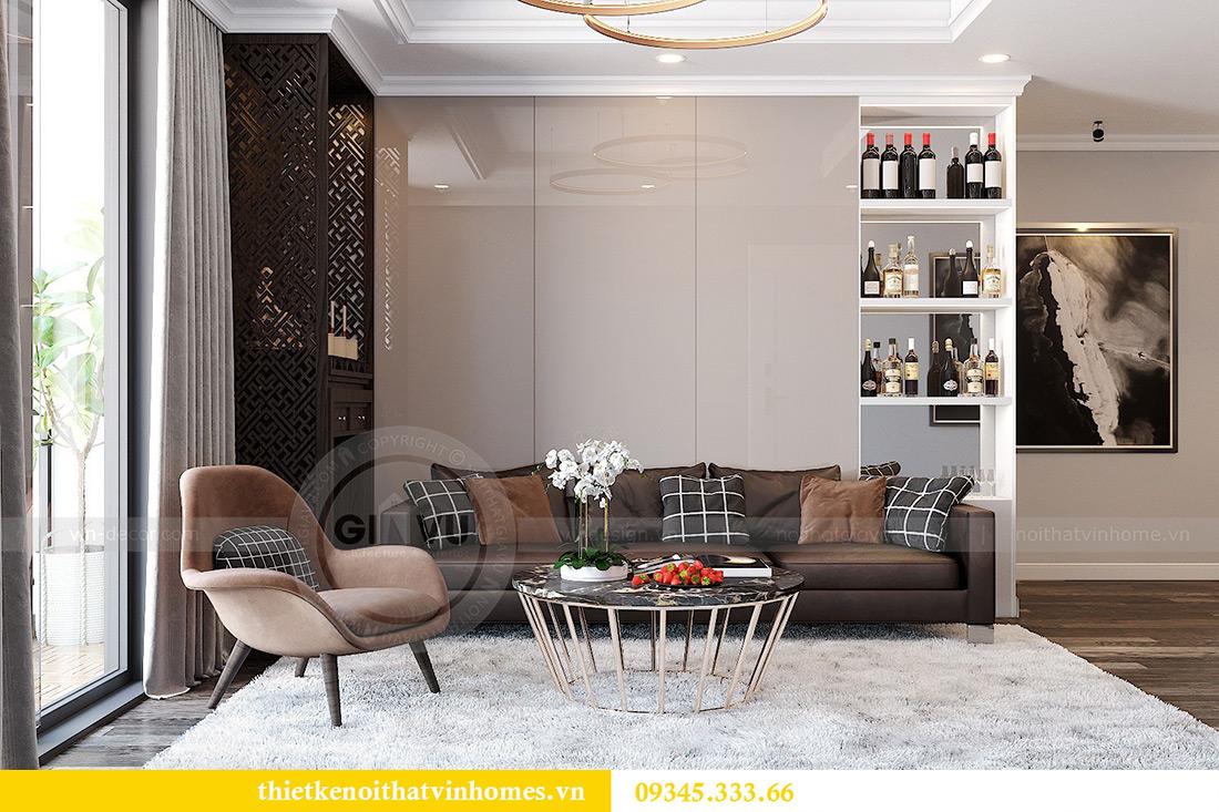 Thiết kế nội thất Vinhomes Phạm Hùng tòa S1 nhà anh Tân 1