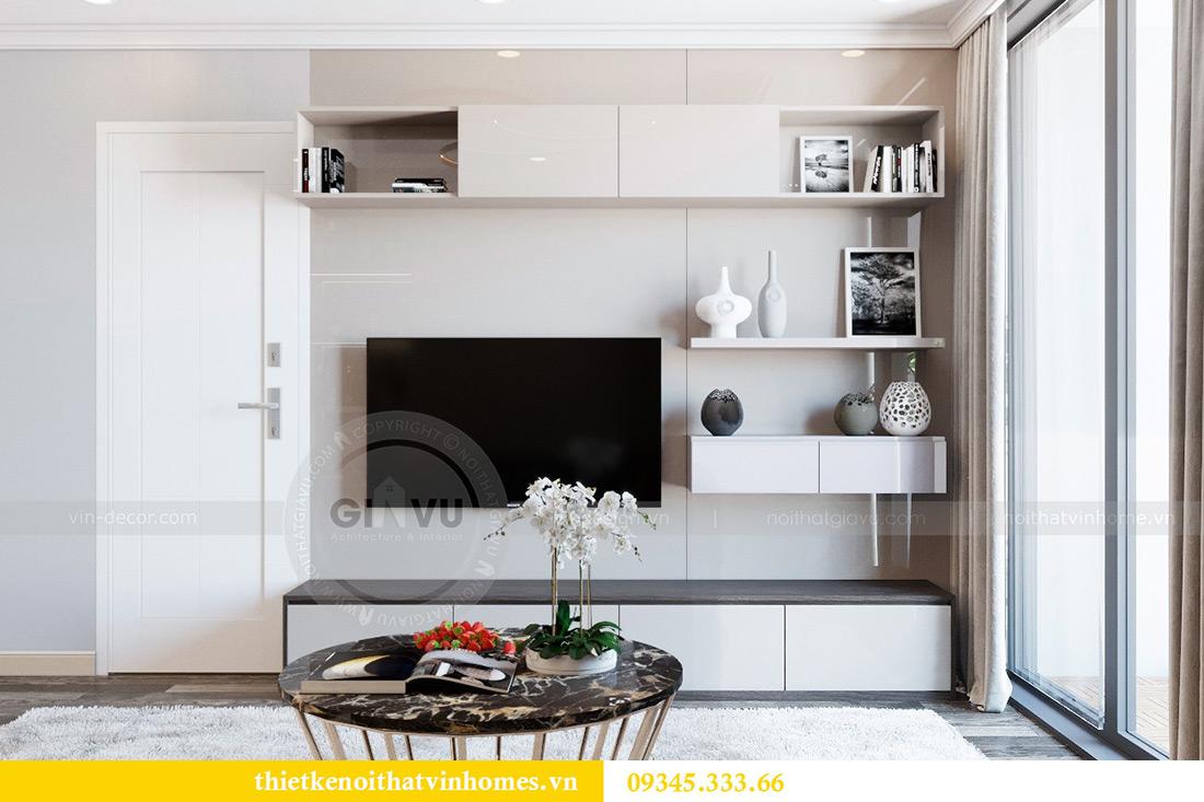 Thiết kế nội thất Vinhomes Phạm Hùng tòa S1 nhà anh Tân 2