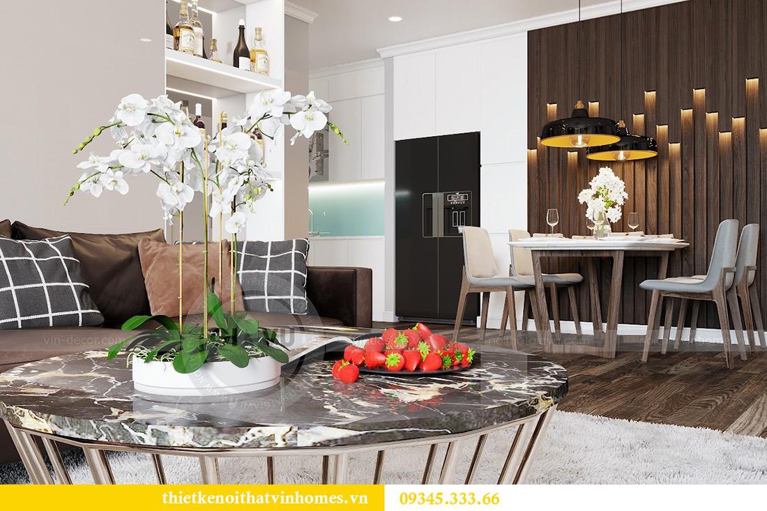 Thiết kế nội thất Vinhomes Phạm Hùng tòa S1 nhà anh Tân 3