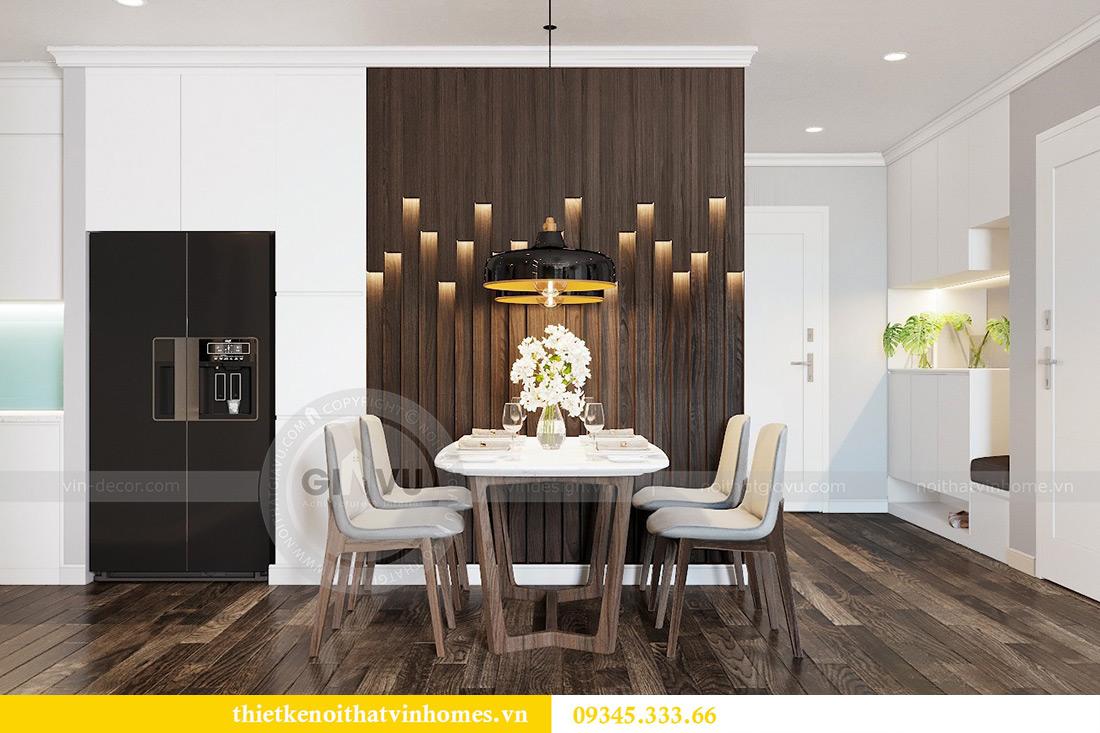 Thiết kế nội thất Vinhomes Phạm Hùng tòa S1 nhà anh Tân 4